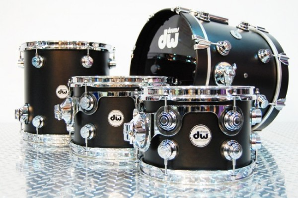 dw black drums