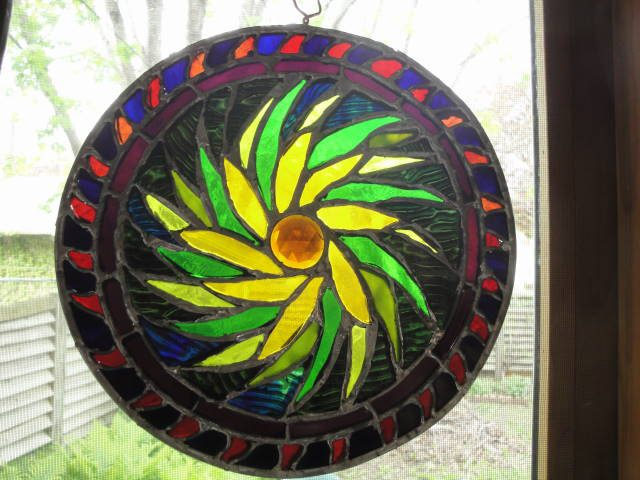 stained glass by mick laBriola